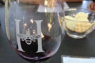 Honig Vineyard and Winery - Wine and crackers
