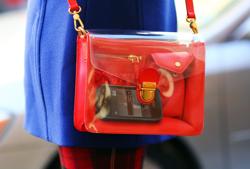 Marc by Marc Jacobs Clear Bag