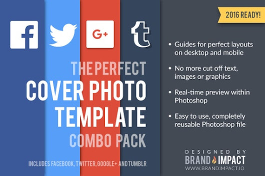 Combo Cover Image Template by BrandImpactIO on Etsy
