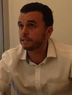 Rodrigo Tostes Flamengo (Foto: Cahê Mota)