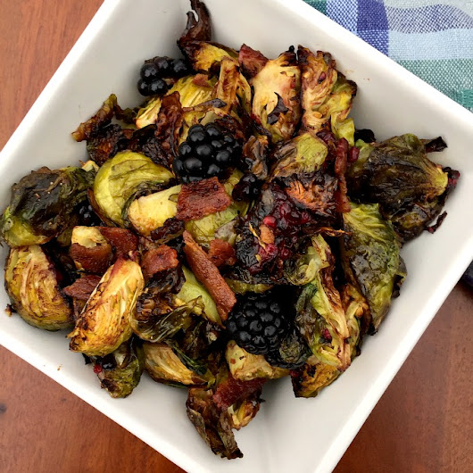 Blackberry Bacon Brussels Sprouts Recipe - Clean Eats, Fast Feets