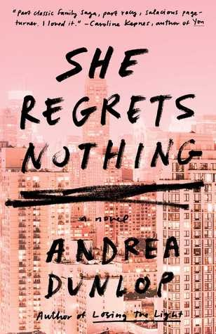 A bookish affair review she regrets nothing by andrea dunlop fandeluxe Images