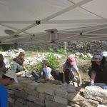 À Bucey-lès-Gy, la restauration de terrasses vigneronnes
