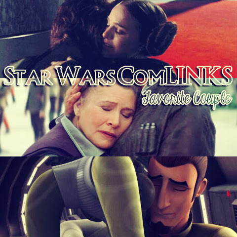 Star Wars ComLINKS: Favorite Couple | Anakin And His Angel