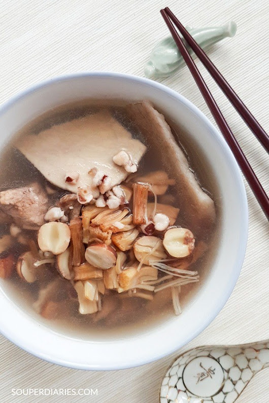 Chinese Four Herbs Soup (四神汤) - Souper Diaries