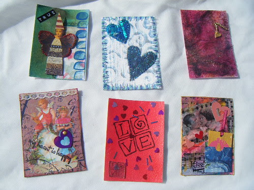 ATC's received from the CMMAG Valentine Swap