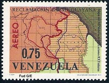 1965+0,75+Centimos+Mapa+del+Ministerio+de+Relaciones+Exteriores+de+1964+Multicolor[1]