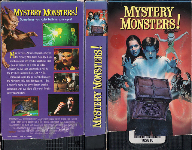 Mystery Monsters (VHS Box Art)