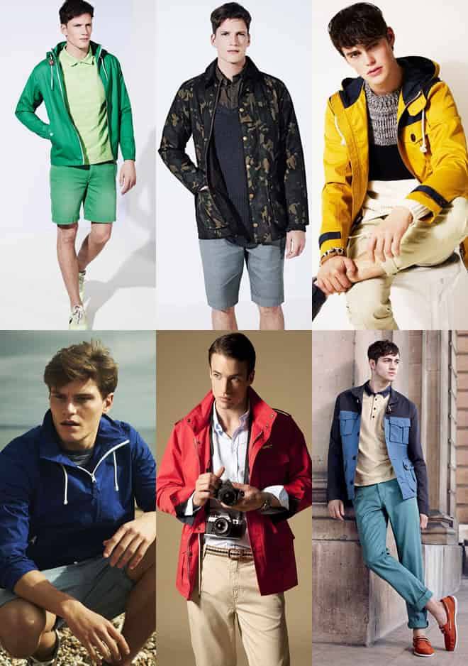 Men's Waterproof Outerwear Lookbook