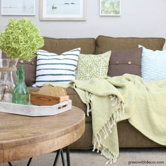Bloggers' best coastal decor and DIY projects - Green With Decor