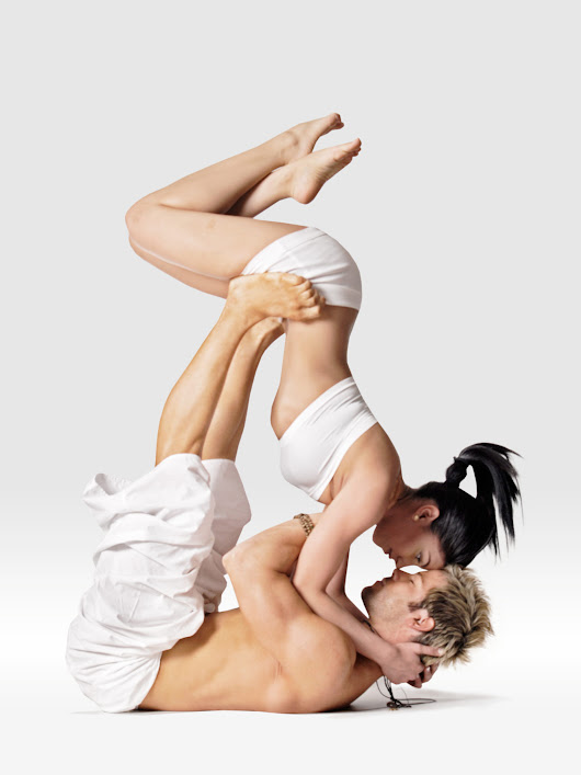 The Tantric Yoga Kiss • Mr. Yoga Is Your #1 Authority on Yoga Poses