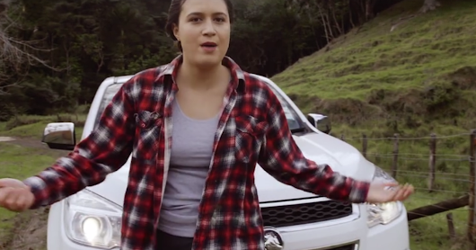 Parody of a pickup truck commercial is a triumphant take on sexism in ads