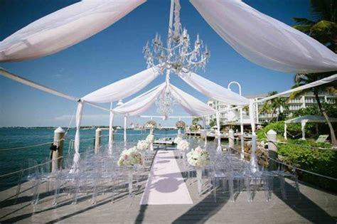 A Glamorous Modern Wedding at Hyatt Key West   Weddings in