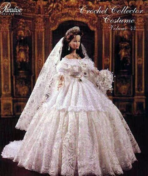 bride doll paradise crochet pattern fashion doll