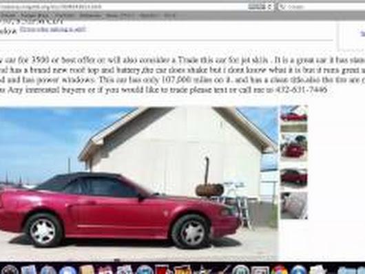 Craigslist Midland Texas Cars And Trucks