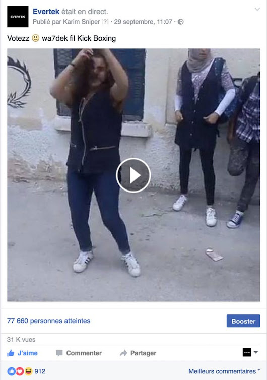Evertek se lance dans le street marketing via Facebook Live | The Guiks