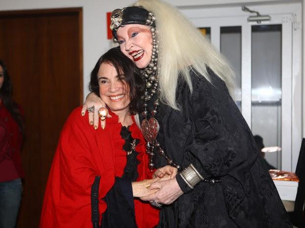 Elke Maravilha e Regina Duarte (Foto: Iwi Onodera / EGO)