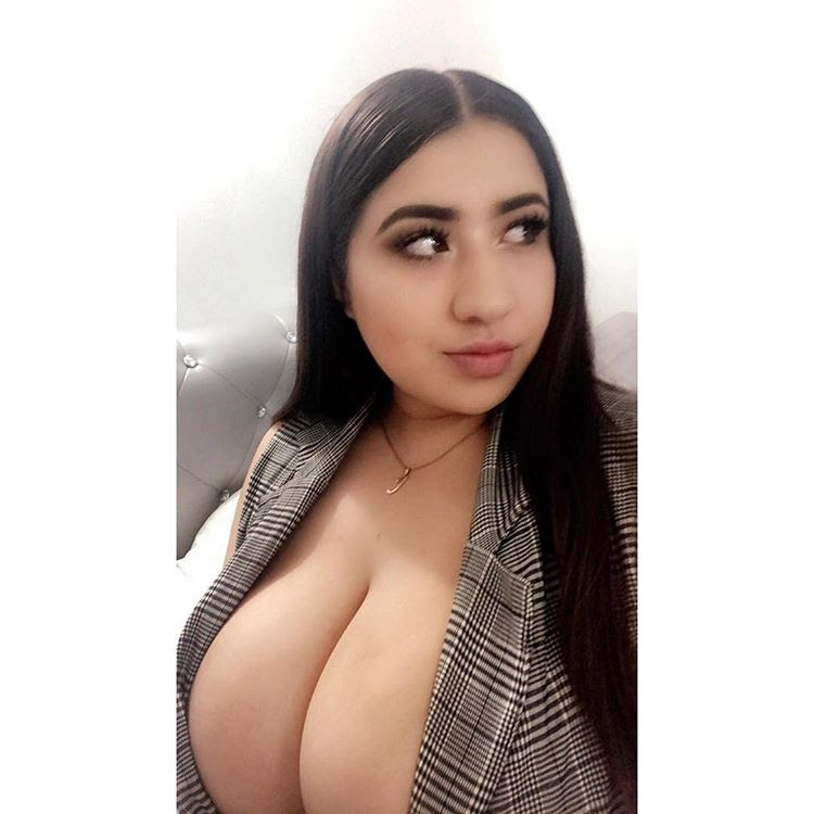 Latina gordinha peituda Jazmín Gurrola nua