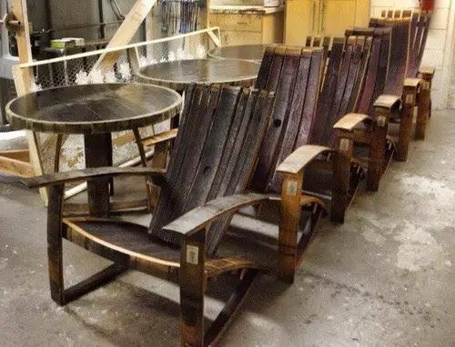 Whiskey Barrel Adirondack Chair Plans Lovingheartdesigns