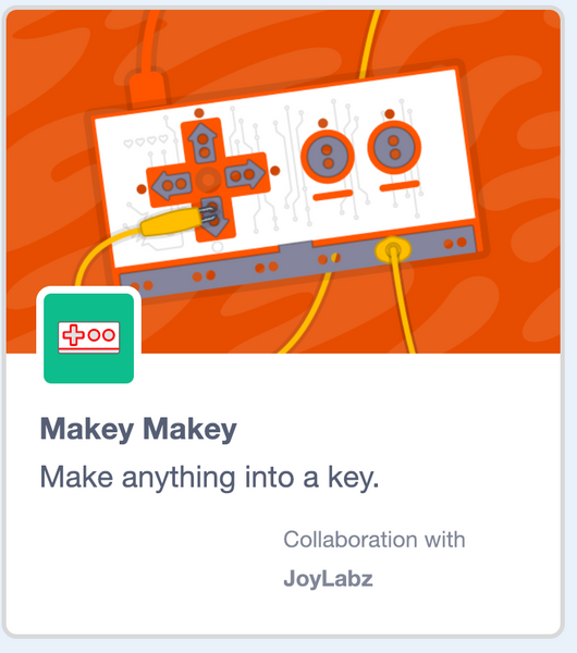 New Scratch 3.0 Extension for Makey Makey!