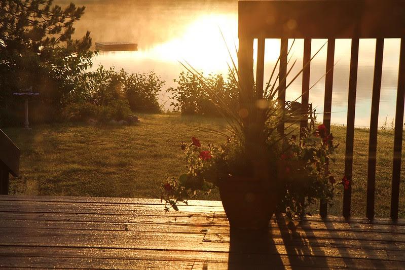 sunrise deck