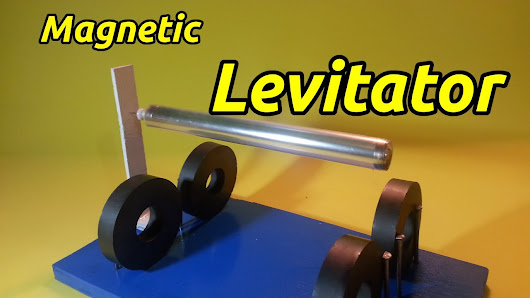 Circuit For Magnetic Levitation That Is Simple And Can Support 06kg