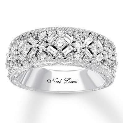 Neil Lane Diamond Anniversary Band 1 1/4 ct tw 14K White