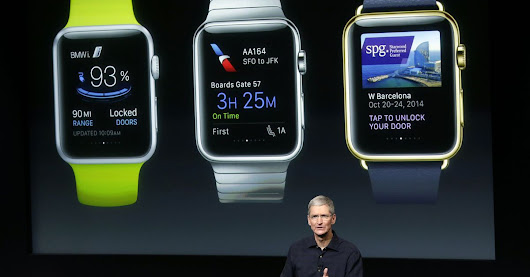 The Apple Watch will go on sale in April
