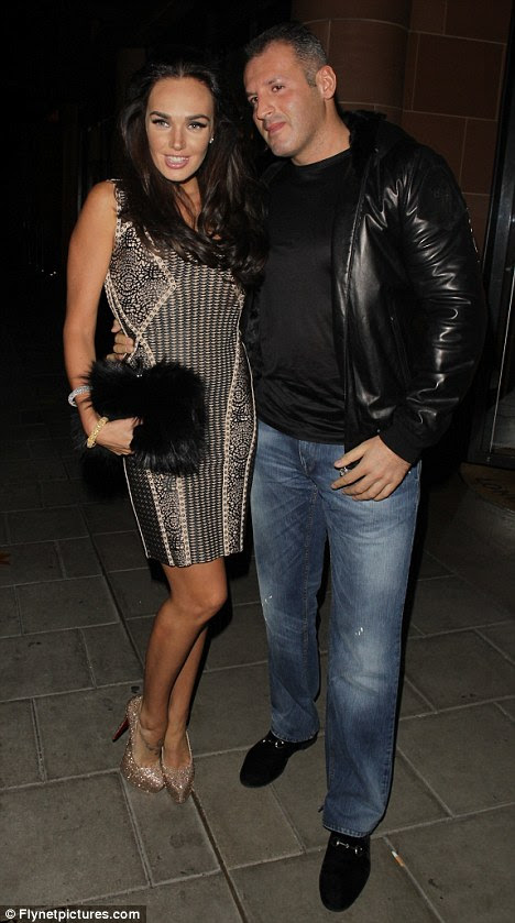 Lista D de noite: Socialite Tamara Ecclestone e seu noivo também passaram a noite no local