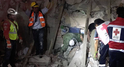 Scouts step up support as earthquake devastates central Mexico