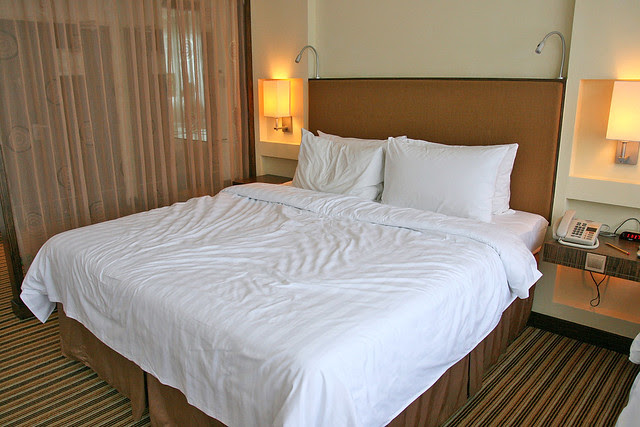 The rooms have all been refurbished to four-star standards