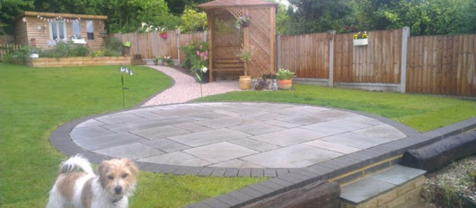 Driveway and patio installations in and around Hockley