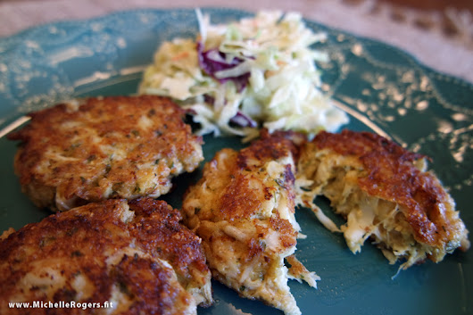 How to make Maryland crab cakes - Michelle Rogers Healthy Living