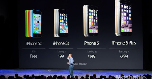 Live Updates: Apple Debuts Two New iPhones and a Watch