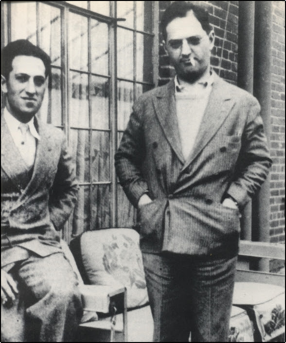 Miss Jacobson's Music: GEORGE GERSHWIN AND HIS BROTHER IRA