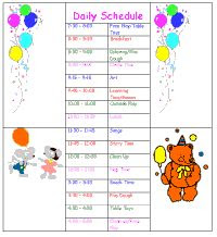 1000+ ideas about Daycare Schedule on Pinterest | Childcare, Home ...