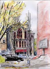 Portland, Oregon - Bishop's House (NaNoDrawMo #15)