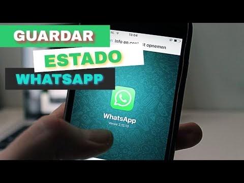 Como guardar estados de WhatsApp de tus amigos