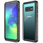 POTALUX Waterproof Case for Samsung Galaxy S10 Built in Screen Protector 360° Full Body Protective Shockproof Dirtproof IP68 Underwater Waterproof