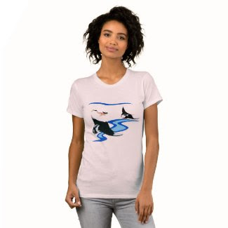 Swimming with Manta Ray T-shirt