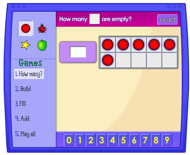 Ten Frame Illuminations Maths Zone Cool Learning Games
