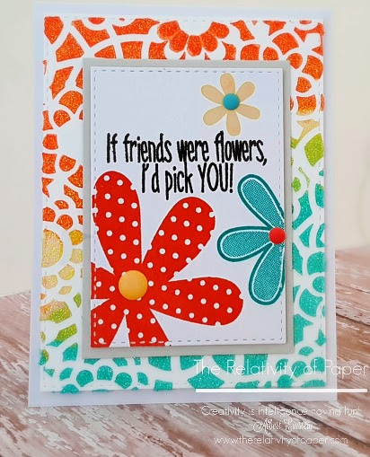 If Friends Were Flowers | The Relativity of Paper | Blog