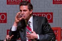 Peña Nieto en la Ibero. Trago amargo. Foto: Germán Canseco