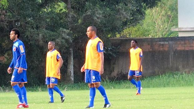 Deivid Negueba treino Flamengo (Foto: Janir Júnior / Globoesporte.com)