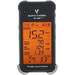 Voice Caddie Golf Swing Caddie SC200 Plus Portable Launch Monitor, Black/Gray
