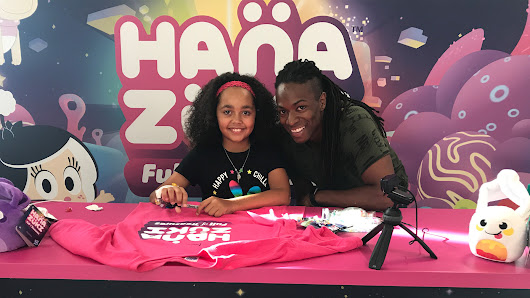 Tiana - Hanazuki Meet and Greet and Competition