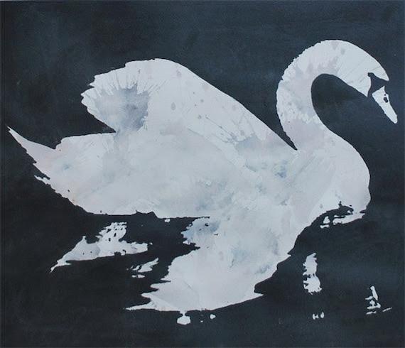 Swan - Metallic Grey