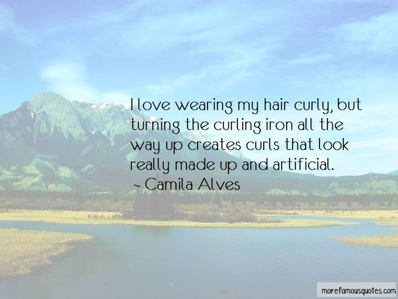 Love Curly Hair Quotes Top 5 Quotes About Love Curly Hair From