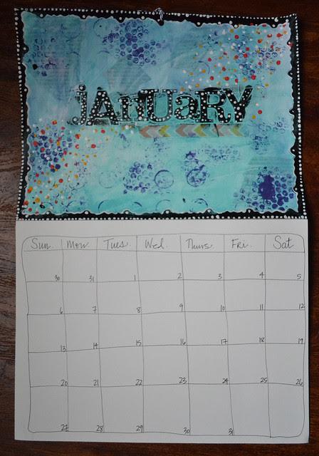 Art Journal Calendar_JAN
