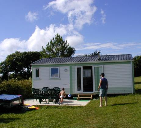 Camping d'ys - Location mobil home finistere sud week end